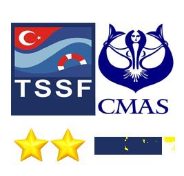 Cmas 2 Dalış Eğitimi Paketi - Çift Yıldız ✯✯
