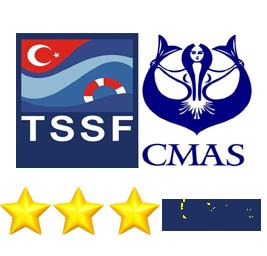Cmas 3 Dalış Eğitim Paketi - Üç Yıldız ✯✯✯